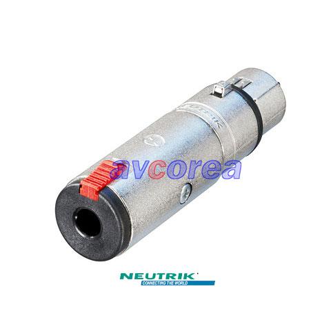 NA3FJ XLR-55(6.3) 변환젠더 XLR Female-55 Stereo PLUG Female