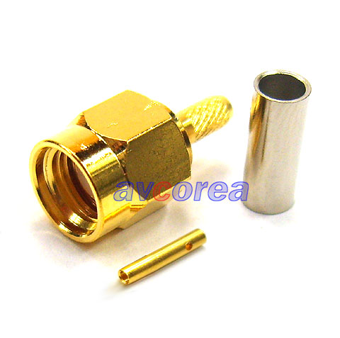 SMA-C-316 Male R/P crimp