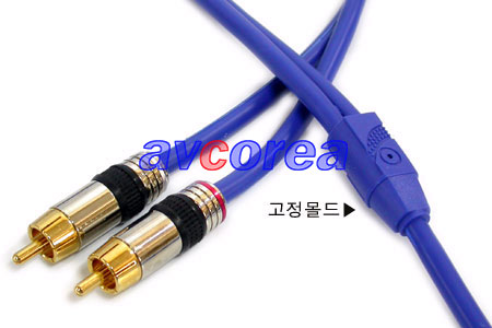 ST->RCA 2선 케이블(고급) 30M