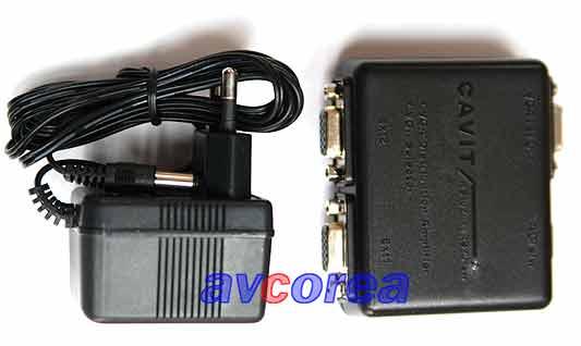 [avcorea]RS-102ux CAVIT 모니터 분배기
