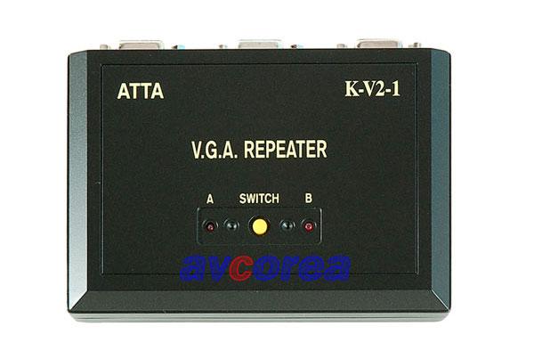 [AVCOREA]K-V2-1 IC 칩셋내장 1:2 선택기
