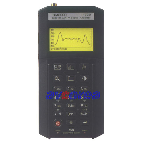 [AVCOREA]TELEMANN 1720 QAM분석기 디지털/아나로그 겸용 신호계측기