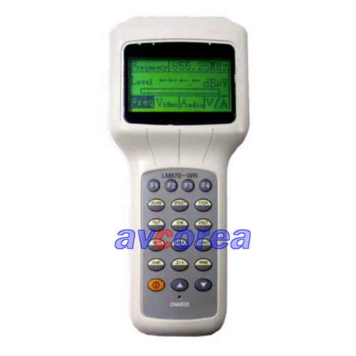 [AVCOREA]LM870-WR Hand-hold Field Intensity Meter