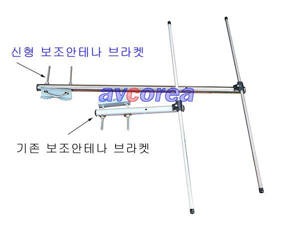 [AVCOREA]FM안테나 부라켓및 보조 안테나 롱타입(스텐레스 재질)
