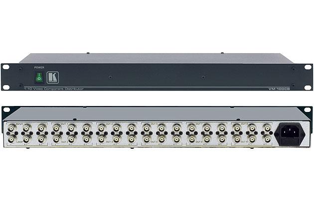 [AVCOREA]VM-100CB 1:10 컴포넌트 비디오 분배 증폭기