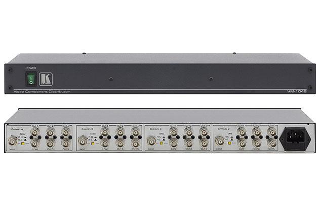 [AVCOREA]VM-1045 1:5 RGBS/컴포넌트 비디오 분배 증폭기
