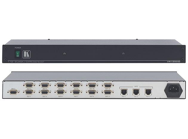 [AVCOREA]VP-12NHD 3개의 Twisted Pair 전송기능포함 1:12 컴퓨터 그래픽 비디오 분배증폭기