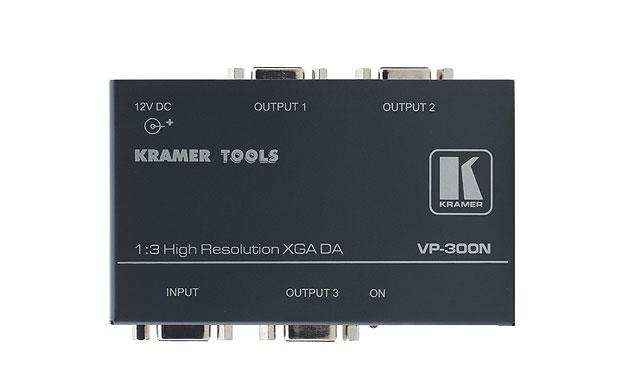 [AVCOREA]VP-300N 1:3 컴퓨터 그래픽 비디오 분배 증폭기