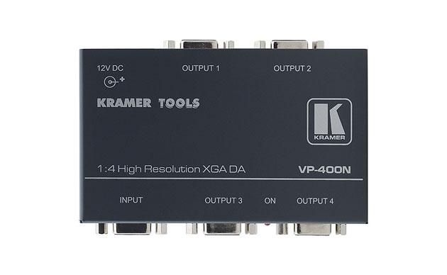 [AVCOREA]VP-400N 1:4 컴퓨터 그래픽 비디오 분배 증폭기