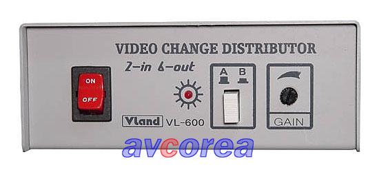 [EAV]PRODIA VL-600  영상 2입력 6분배기