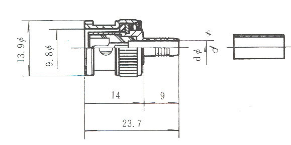 [AVCOREA]BNC-59-CRIMP커넥터