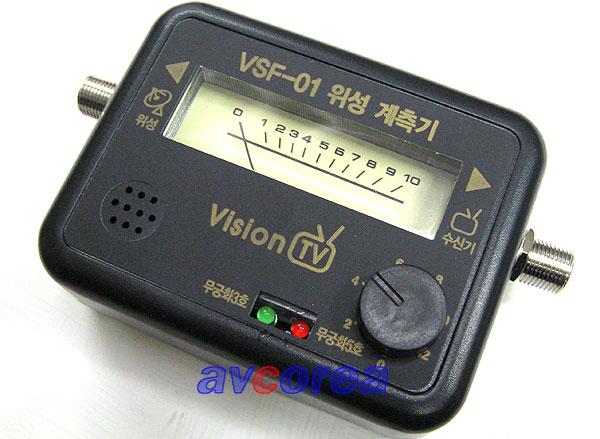 [AVCOREA]VSF-01 간이위성계측기 무궁화3호+5호 전용제품[Satellite Finder]